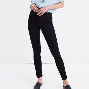 "Madewell 10"" High Rise Skinny Jeans"